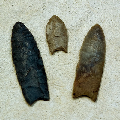 Lenape spear points