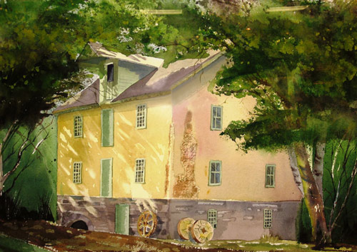 Stillwater Mill by David Rush