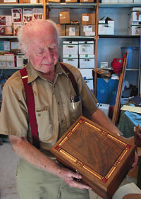 Arnold Weber Of Weberu0027s Cabinet Shop, Frankford Township, Is An Old Time  Yet Modern Cabinet Maker. At 76, He Works 40 Hours A Week And Calls Himself  ...